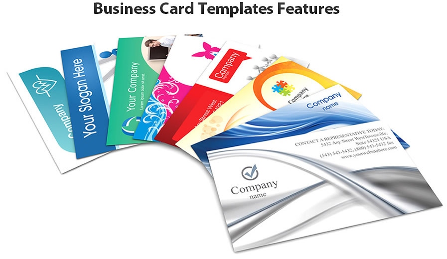 business card Templates Features